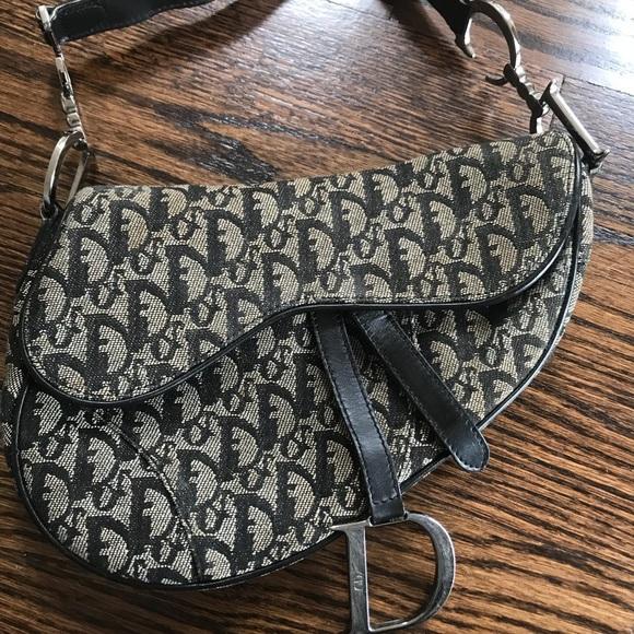 ea3cfee02e37d Dior Handbags - Authentic Dior saddle bag!